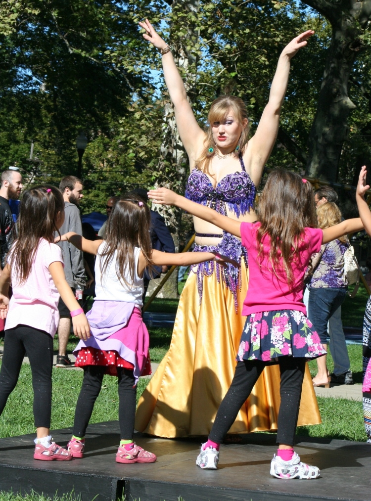 Belly Dancing Lessons at the Tremont Arts and Cultural Festival
