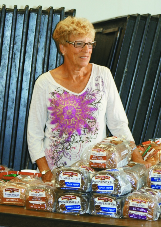 St. Ignatius Food Pantry - Bread distribution