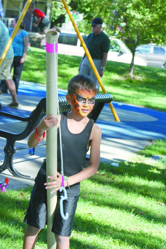 Fishing for prizes at the Tremont Arts and Cultural Festival