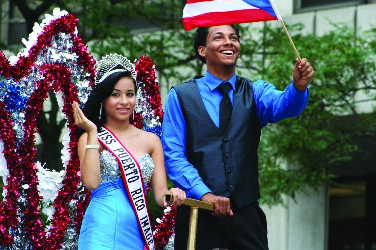 Julia de Burgos Cultural Arts Center's Puerto Rican Parade: Miss Puerto Rican Image 2012 & Mr. Puerto Rico 2012