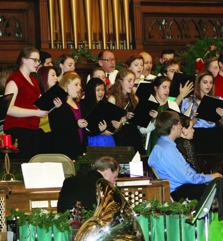 Christmas Concert, Franklin Circle Christian Church