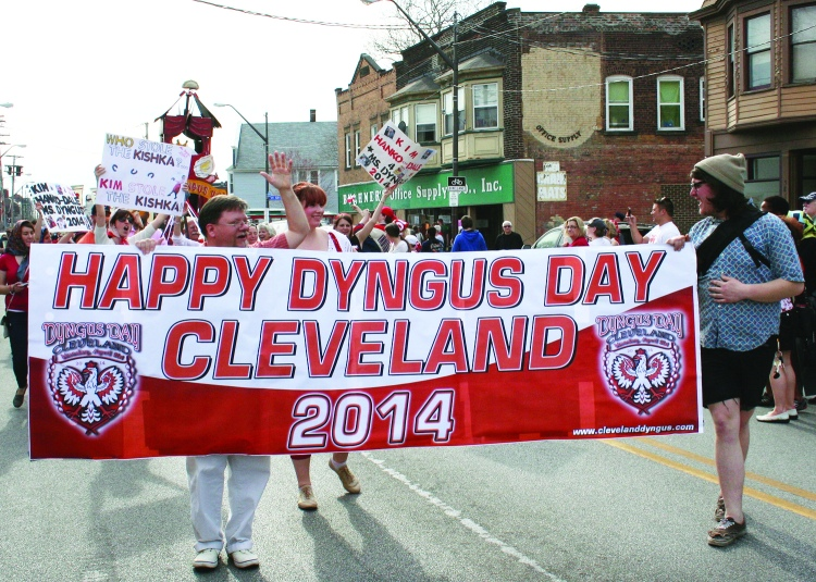 The Dyngus Day Parade