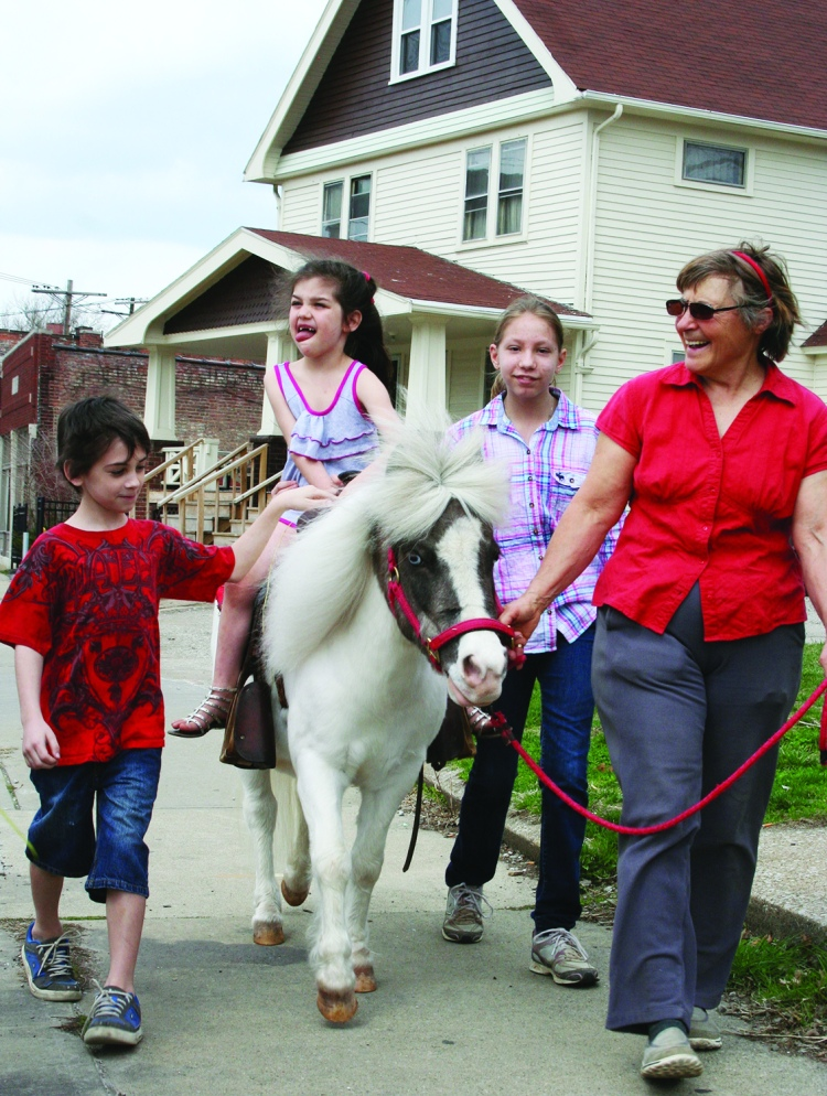 Pony Ride and Spring Celebration, Denison Avenue United Church of Christ,