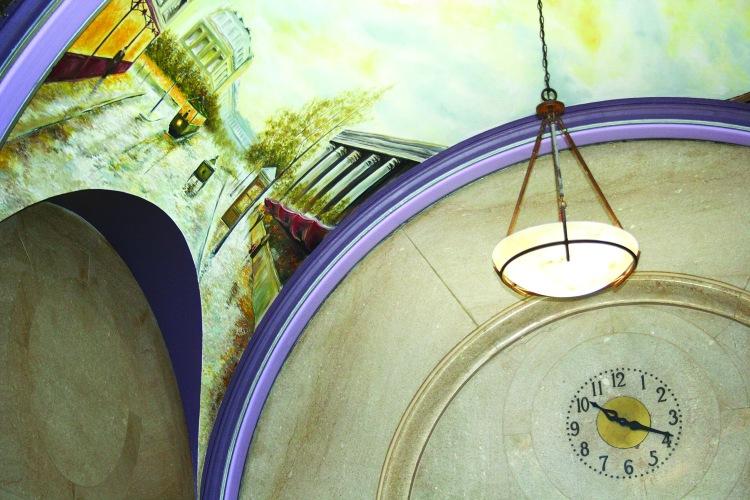 United Building Lobby mural