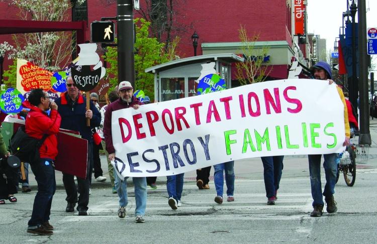Deportations destroy families