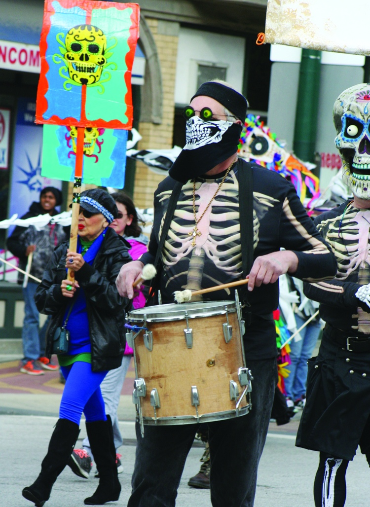 skeleton drummer