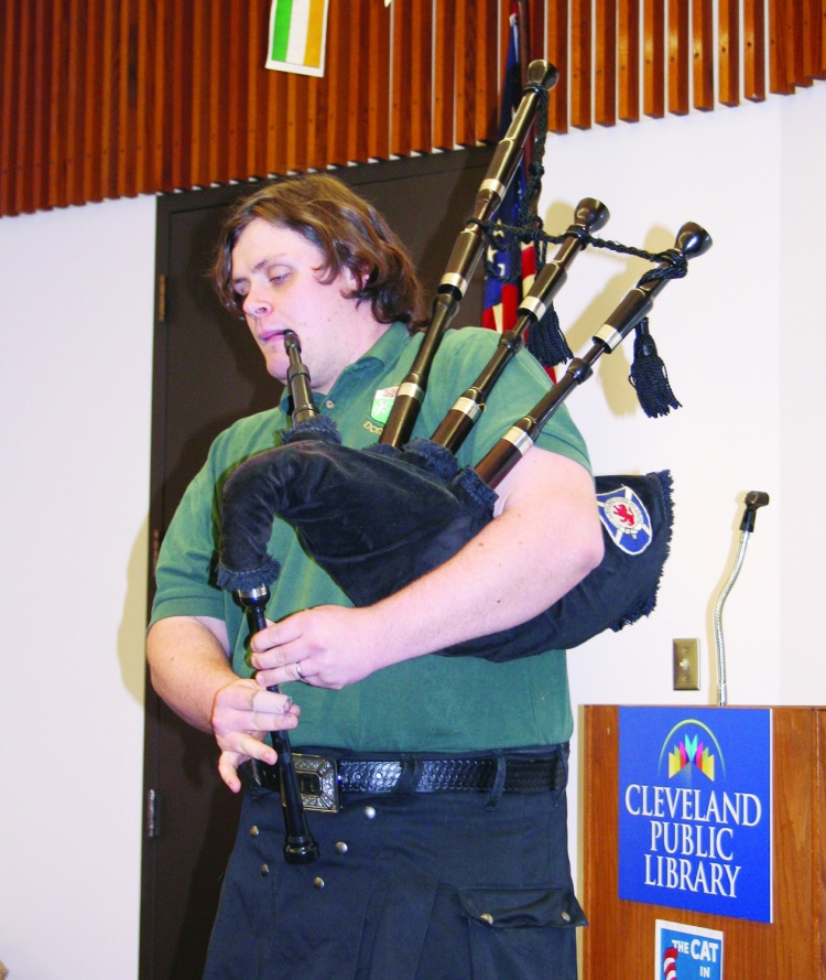 library bagpipes