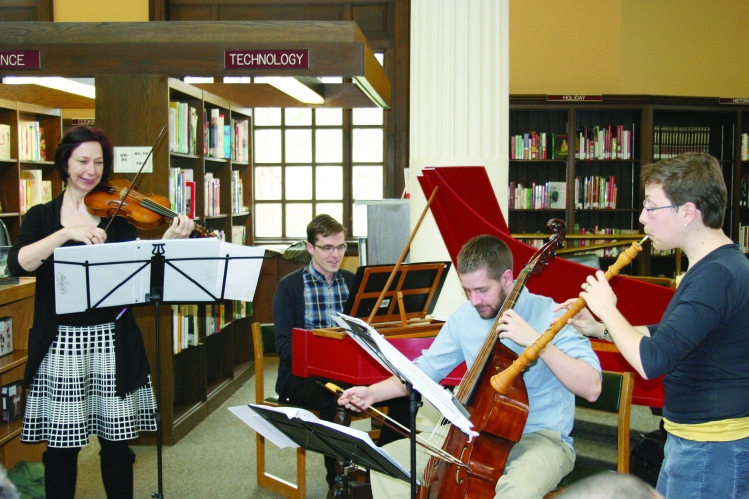 Library quartet
