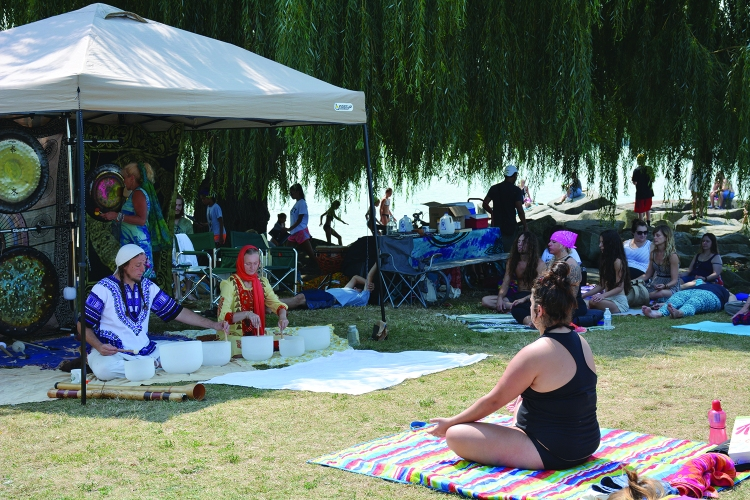 yoga at eclipse