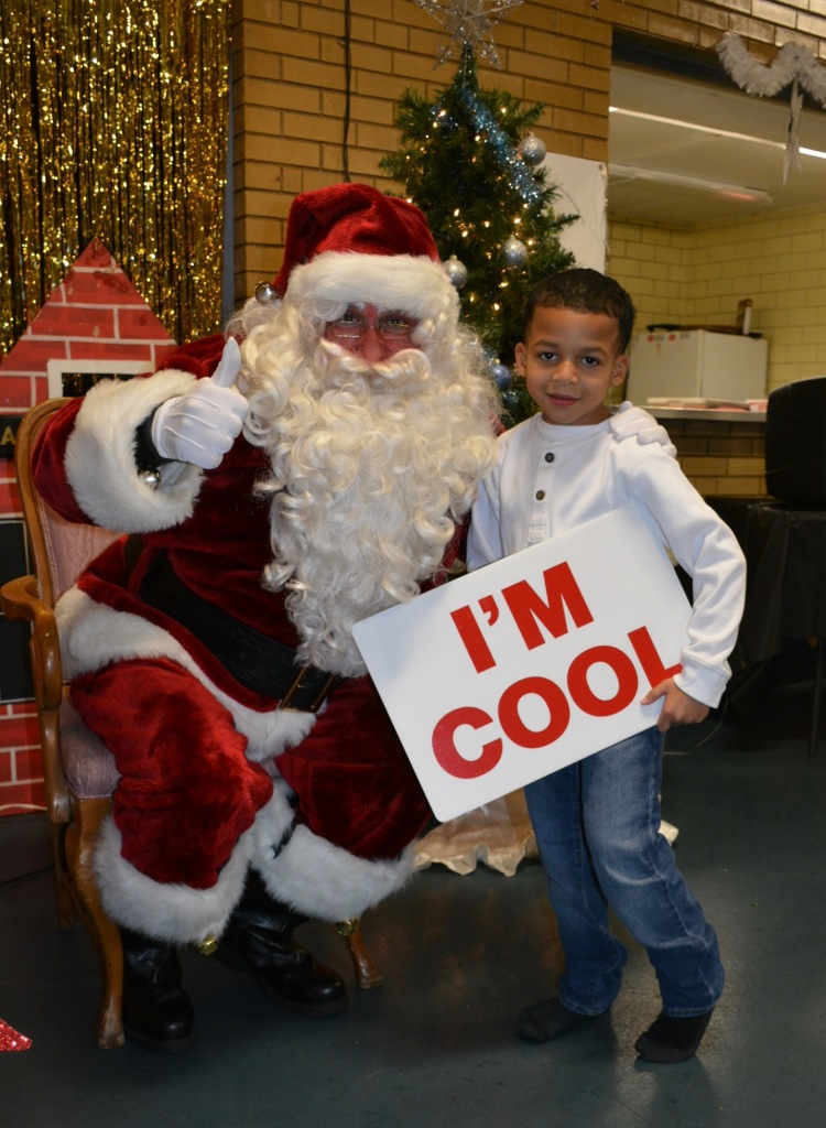 Santa&CoolKid