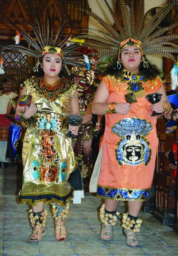 Aztec procession