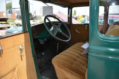 The 1930 Ford Deluxe interior was just like the engine-basic and simple.