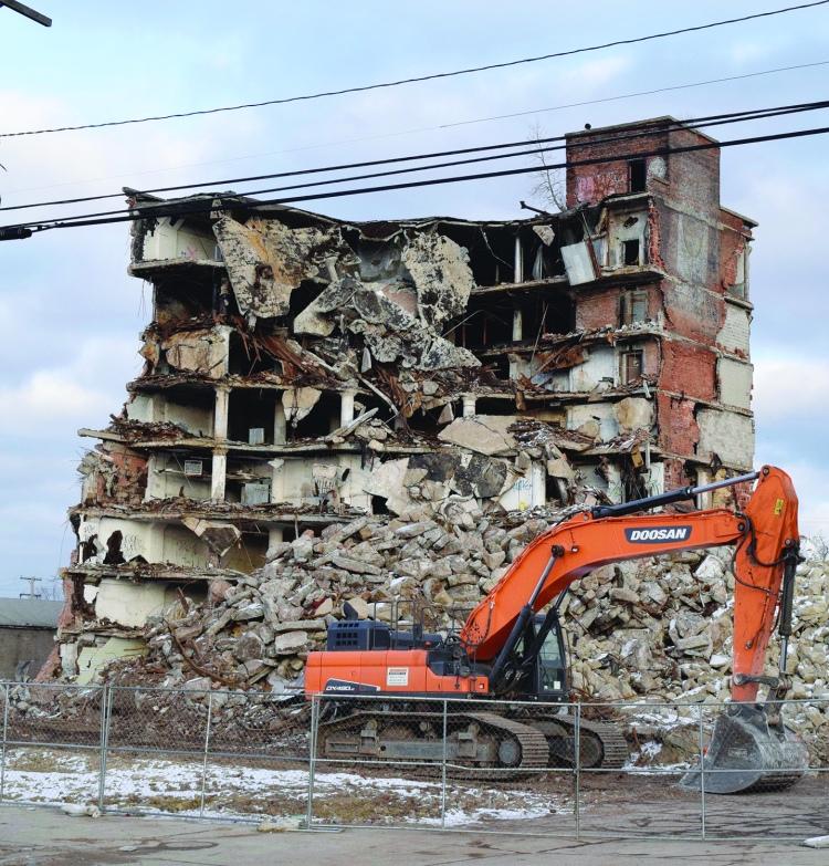 demo building