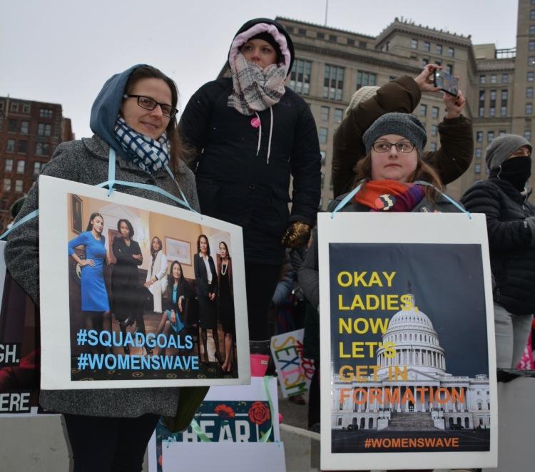 WomenMarchWave